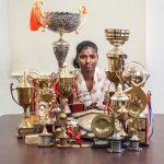 La joven india ha ganado multitud de trofeos en los últimos años
