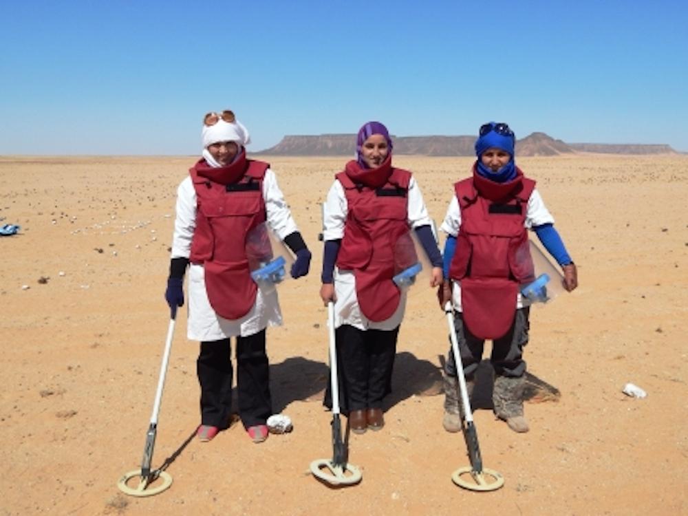 MTT-2 Female Operators Fatimatou,Tumanna and Yaugiha