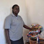 Beatrice Ayuru, en su centro | Imagen cedida