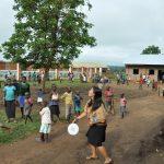 La escuela recibe voluntarios, que participan en diferentes | Imagen cedida