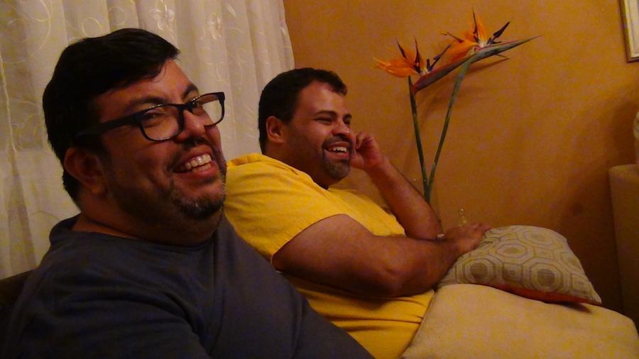 Gerardo y Rafael viven su relación de manera pública en Venezuela. / Imagen cedida.