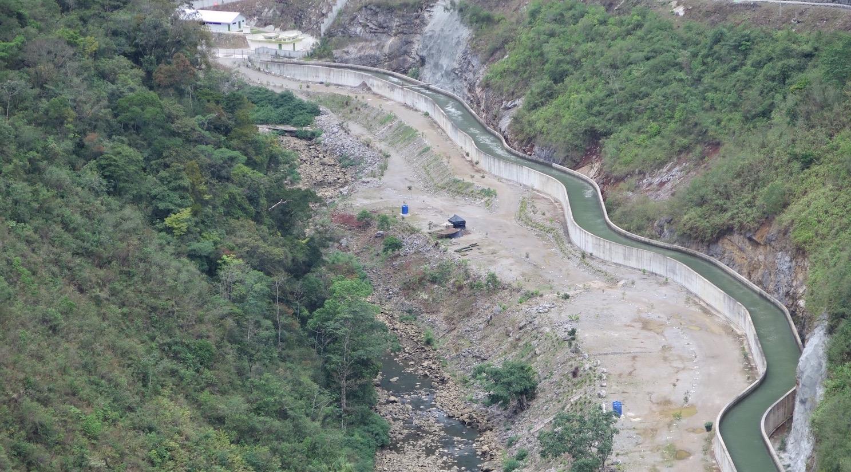 En algunas zonas de los 30 kilómetros del río afectados por el proyecto, el cauce prácticamente no lleva agua/Rosa Martín Tristán,Alianza por la Solidaridad